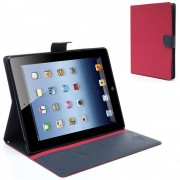 Mercury Pouzdro / kryt pro Apple iPad 2 / 3 / 4 - Mercury, Fancy Diary Hotpink/Navy