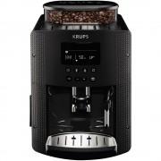 Espressor automat Krups Essential EA815B70, 1450 W, 15 bari, Râşniţă de cafea metalică, 1.7 L, Display LCD, Duză de abur, Gri