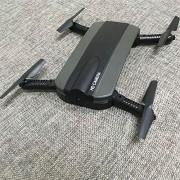 Springdoit Dron avión Quadcopter USB de Carga de Control Remoto WiFi transmisión en Tiempo Real dron Regalo de Navidad (Negro)