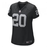 NikeNFL Oakland Raiders (Darren McFadden) Women's American Football Home Game Jersey
