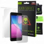 Folie Alien Surface HD Huawei P9 lite mini 2017 protectie ecran spate laterale + Alien Fiber Cadou