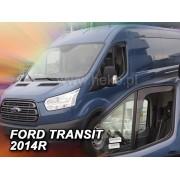 Deflektory predné pre Ford Transit , -dver., 2013-