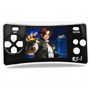 RS - 1 Retro Videoconsola Portatil De 8 Bits, Color Verdadero Pantalla LCD De 2,5 Pulgadas, Construido En 152 Tipo Juegos (Black)