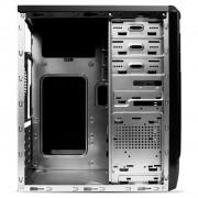 Carcasa RPC AA000BF, fara sursa, Middle Tower, ATX, 2xUSB2.0, vent. opt.: spate 1x8cm, lateral 1x9cm, fata 1x12cm, HD audio, 3.35kg, negru