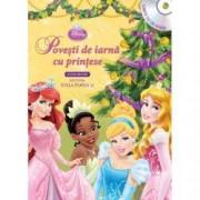 Disney Audiobook. Povesti de iarna cu printese carte + CD
