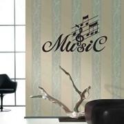 Sticker decorativ de perete Sticky, 260CKY1052, Negru