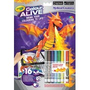 Crayola Colour Alive Mythical Creatures Colouring Set