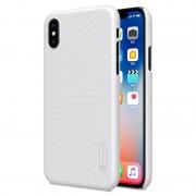 Capa Nillkin Super Frosted Shield para iPhone X / XS - Branco