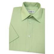 Pánská košile KLASIK krátký rukáv V8-Zelená 351-8-39/182