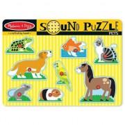Animale de companie de sunet Puzzle - 10730