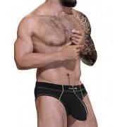 WildmanT Stitch Big Boy Pouch Brief Underwear Yellow STI-BR