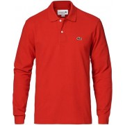 Lacoste Long Sleeve Original Polo Red