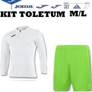 Joma- Completo Calcio - Kit Toletum M/L