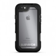 Griffin Survivor Summit for iPhone 6, 6s - Black/Clear