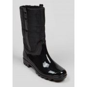 Matalan Quilted Wellies in Size 6, Black