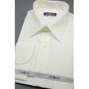 Pánská košile smetanová s širokým proužkem 527-90017-41/182