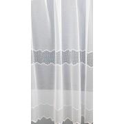 Fehér jaquard függöny leveles 484 méterben/018/Cikksz:01140200