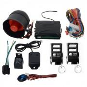 Alarma auto universala cu 2 telecomenzi si senzor de soc