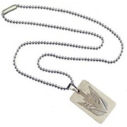 Men Style Geomertic Sun Arrowhead Car Robot Mask Silver Stainless Steel 00 Necklace Pendant For Men And Women