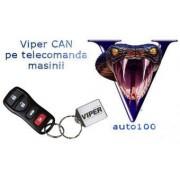 Viper CAN Digital 3902V alarma auto cu actionare din telecomanda masinii
