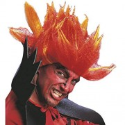 Diablo In Polybag Wig for Hair Accessory Fancy Dress