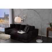 Vloerlamp Madrid wit 185-205cm, dimmer