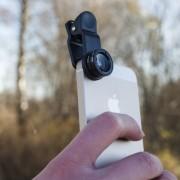 Kikkerland Cameralens voor smartphone (set van 3)