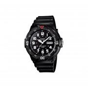 Reloj CASIO MRW-200H-1BVCF Diver-look Classic Collection Análogo Con Calendario-Negro