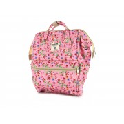 Shoesme roze messenger bag met bloemenprint (BAG9A027-A). Maat UNI