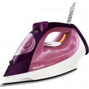 Fier de calcat Philips SmoothCare GC3581/30, Ceramica, 2400W, 400 ml, 170 g / min, Mov/Roz