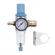 """ZESTAW Regulator powietrza z manometrem odwadniaczem i filtrem REDATS P-700 1/4"""" STD + wtyk + szybkozłączka - 1/4"""""""