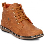 Knoos Men'S Synthetic Leather Hunk Boots