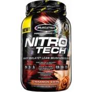 Muscletech Nitro-Tech Performance Series 907g tejsavófehérje kreatinnal (tejsavó izolátum, ultra-szűrt tejsavó koncentrátum és hidrolizált tejsavó izolátum)