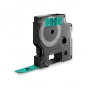 Etichete autocolante DYMO LabelManager D1 12mm x 7m negru verde 45019 S0720590