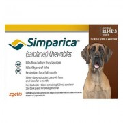 Simparica Chewables For Dogs Above 88 Lbs (Red) 6 Pack
