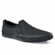 Shoes for Crews Mens Leather Slip On Size 43 Size: 43