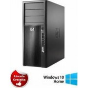 Desktop Refurbished HP Workstation Z200 XEON X3460 160GB 4GB DVDRW Win10Home