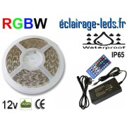 Kit bandeau LED RGBW IP65 smd5050 12v ref bl-22