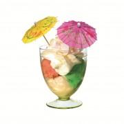 Umbrelute pentru cocktail, diverse culori, 10 buc/set, HERLITZ