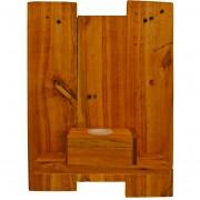 Aplique de madera, iluminación, decoración