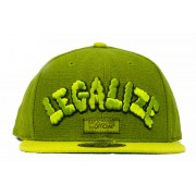 BONÉ OFFICIAL - LEGALIZE - GREEN