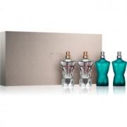 Jean Paul Gaultier Mini Le Male lote de regalo eau de toilette 2 x 7 ml + eau de parfum 2 x 7 ml