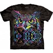 Spiru T-Shirt Mountain Artwear Russo Owl L