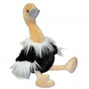 Bellatio Decorations Kleine pluche struisvogel knuffel 31 cm