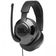 Слушалки JBL QUANTUM 200 BLK Wired over-ear gaming headset with flip-up mic, Черен, JBL-Q200-BK