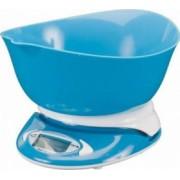 Cantar Papaya Cookware electronic de bucatarie cu bol sunrise 5kg Albastru