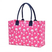 Wholesale Boutique Hot Pink Palm Bolso