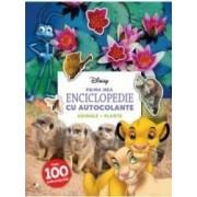 Disney. Prima mea enciclopedie cu autocolante Animale. Plante