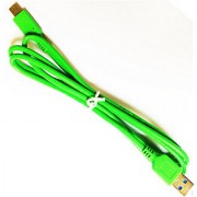 USB Data Cable Charging Cable For All Mobile Phone Green Color 1.2 Meter Long