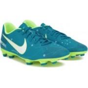 Nike MERCURIAL VORTEX III NJR FG Football Shoes(Blue)